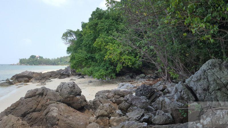 Beachfront development land for sale koh samui