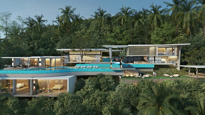 Luxury villa for sale koh samui